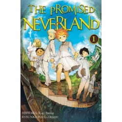 Komplet Mang The Promised Neverland 1-5 + Gratis